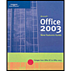 Office 2003: New Features by Course…