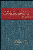 An Introduction To Educational Psychology…