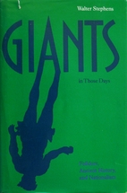 Giants in Those Days: Folklore, Ancient…