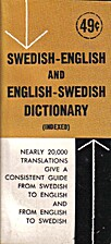 Swedish-English and English-Swedish Vest…