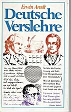 Deutsche Verslehre by Erwin Arndt