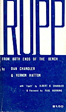Rupp : from both ends of the bench by Dan…