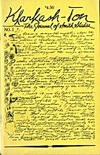 Klarkash-Ton: The journal of Smith studies 1…