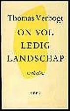 Onvolledig landschap (Dutch Edition) by…