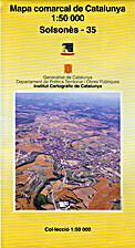 Mapa comarcal de Catalunya 1:50000:…