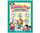 Bubble Pop Game Sheets by Nancy Crist