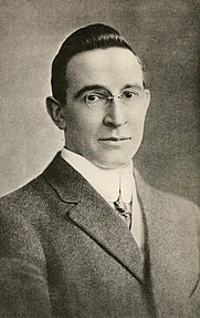 Author photo. Image from <b><i>Men who are making America</i></b> (1917) by B. C. Forbes