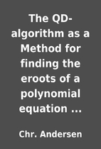 The QD-algorithm as a Method for finding the…