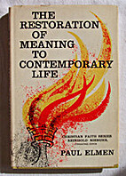 The restoration of meaning to contemporary…