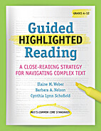 Guided Highlighted Reading by Elaine Weber