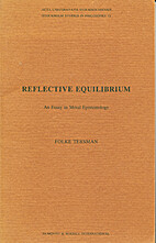 Reflective equilibrium: an essay in moral…