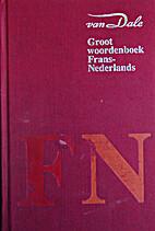 Van Dale groot woordenboek Frans-Nederlands…