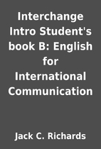 Interchange Intro Student's book B: English…