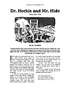 Dr. Heckle and Mr. Hide by Joe Archibald