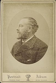 Author photo. Courtesy of the <A HREF=&quot; http://digitalgallery.nypl.org/nypldigital/id?1158463&quot;> NYPL Digital Library </A> (image use requires permission from the New York Public Library)