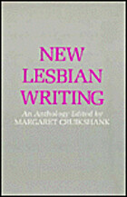 New Lesbian Writing by Margaret Cruikshank