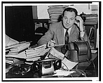 Author photo. New York World-Telegram and the Sun Newspaper Photograph Collection (Library of Congress)