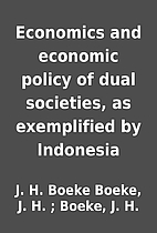 Economics and economic policy of dual…