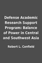 Defense Academic Research Support Program:…