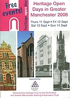 Greater Manchester Region Heritage Open Days…