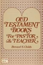 Old Testament books for pastor and teacher…