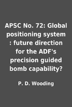 APSC No. 72: Global positioning system :…