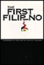 The First Filipino, a Biography of…