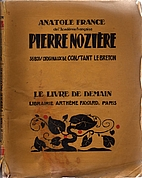 Pierre Noziere by Anatole France