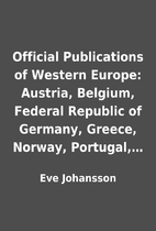 Official Publications of Western Europe:…