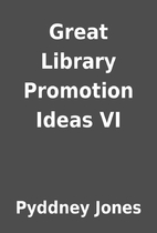 Great Library Promotion Ideas VI by Pyddney…