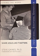 Share Jesus Like It Matters: Intentional…