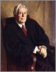 Author photo. Official portrait of Chief Justice Burger