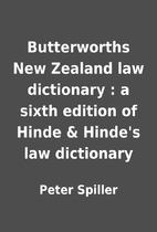 Butterworths New Zealand law dictionary : a…
