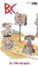 B.C. Dip in Road by Johnny Hart