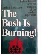 The bush is burning! Radical Judaism faces…