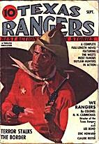 TEXAS RANGERS - Sep. 1937: Vol. 4, #1…