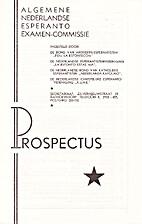 Prospectus 92-93 by Alan Balfour
