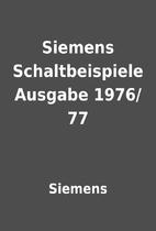 Siemens Schaltbeispiele Ausgabe 1976/77 by…