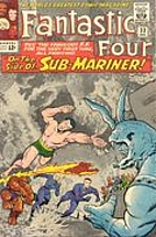Fantastic Four [1961] #33 by Stan Lee