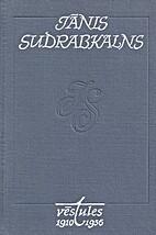 Vēstules by Jānis Sudrabkalns