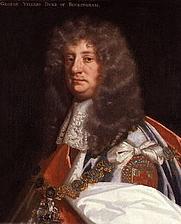 Author photo. George Villiers, 2nd Duke of Buckingham. Wikimedia Commons.