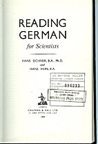 Reading German for scientists by Hans…
