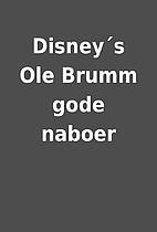 Disney´s Ole Brumm gode naboer