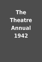 The Theatre Annual 1942