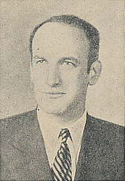 Author photo. Cut down scan from the back cover of Penguin No.709 (unattributed image)
