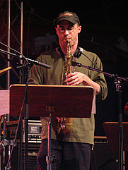 Author photo. Credit: Michael Hoefner, 2004, Moers Festival