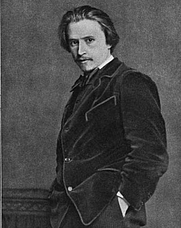 Author photo. Hugo Wolf. Frontispiece from Hugo Wolf (1912) by Max Morold