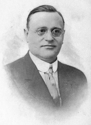 Author photo. Image from <b><i>The web of destiny; how made and unmade</i></b> (1920) by Max Heindel