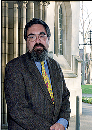 Author photo. Prof. Anthony Thomas Grafton. Photo by Denise Applewhite, 2000 (photo courtesy of Princeton University)