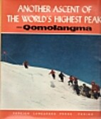Another Ascent Of The World's Highest…